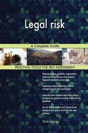 Legal Risk a Complete Guide by Gerardus Blokdyk image