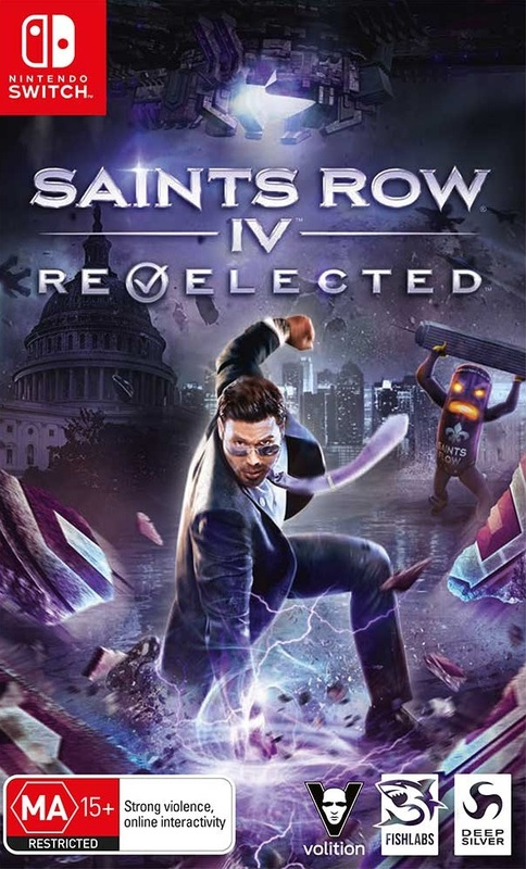 Saints Row IV Re-Elected for Switch