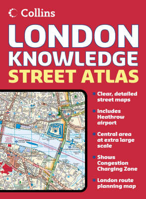 London Knowledge Atlas by Collins UK image