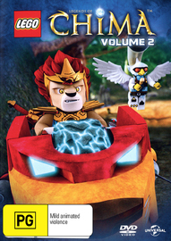 LEGO Legends of Chima - Season 1 Volume 2 on DVD