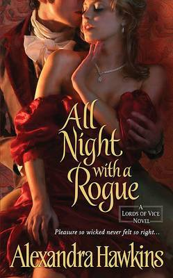 All Night with a Rogue by Alexandra Hawkins image