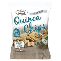 Eat Real Quinoa Chips - Sour Cream & Chives (80g)