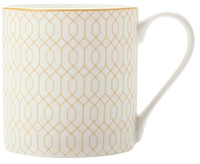 Maxwell & Williams Cashmere Nocturne Mug 350ml White/Gold