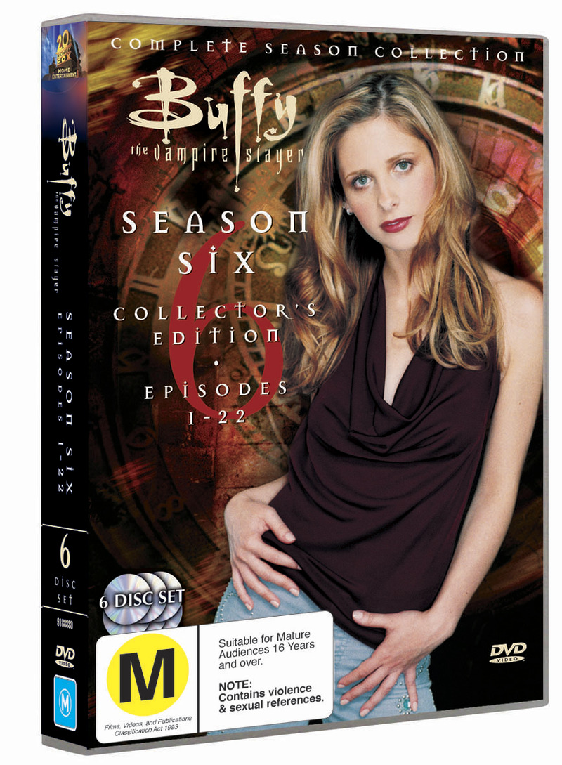 Buffy - The Vampire Slayer: Season 6 (6 Disc Set) on DVD image