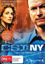 CSI - New York: Complete Season 3 on DVD