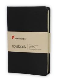 Pierre Cardin: A6 Hard Cover Notebook - Black