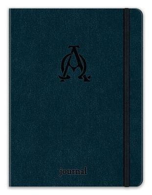 Alpha and Omega Essential Journal (Navy Leatherluxe) image