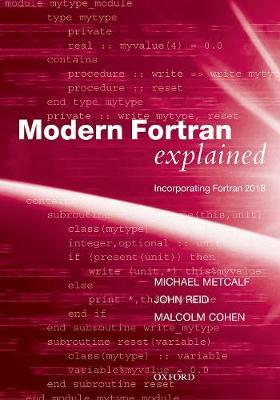 Modern Fortran Explained by Michael Metcalf