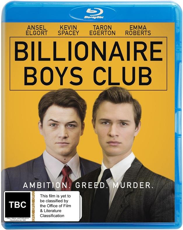 Billionaire Boys Club on Blu-ray