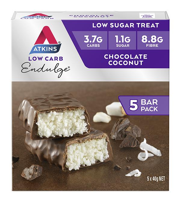 Atkins Endulge Bars - Chocolate Coconut (Box of 5)
