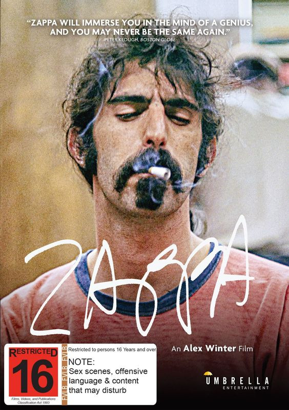 Zappa on DVD