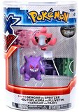 XY Pokémon Figures - 2 Pack - Gengar vs. Spritzee