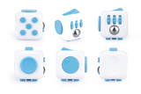 Antsy Labs Fidget Cube (Series 1, Aqua)