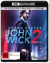John Wick: Chapter 2 on Blu-ray, UHD Blu-ray