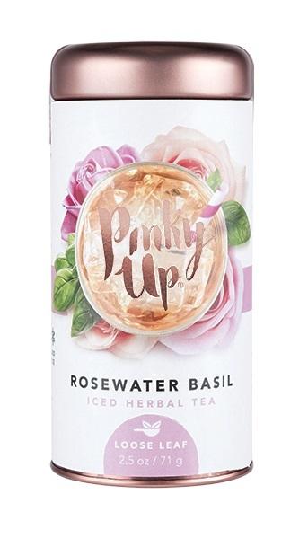 Pinky Up: Rosewater Basil - Loose Leaf Iced Tea (42.5g)