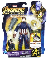 "Avengers Infinity War: Captain America - 6"" Action Figure"