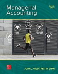 Loose Leaf for Managerial Accounting by John J Wild
