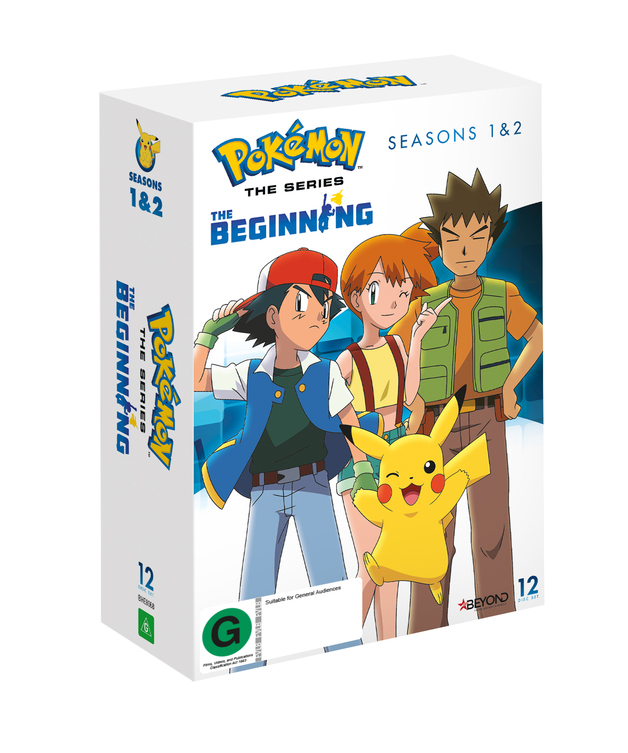 Pokemon Seasons 1 & 2 Collector's Edition | DVD | On Sale Now | at