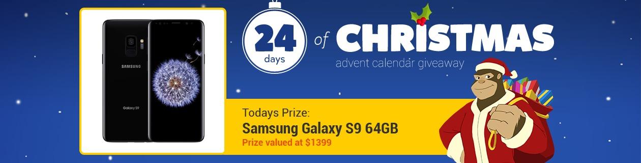 24 Days: Samsung Galaxy S9 64GB