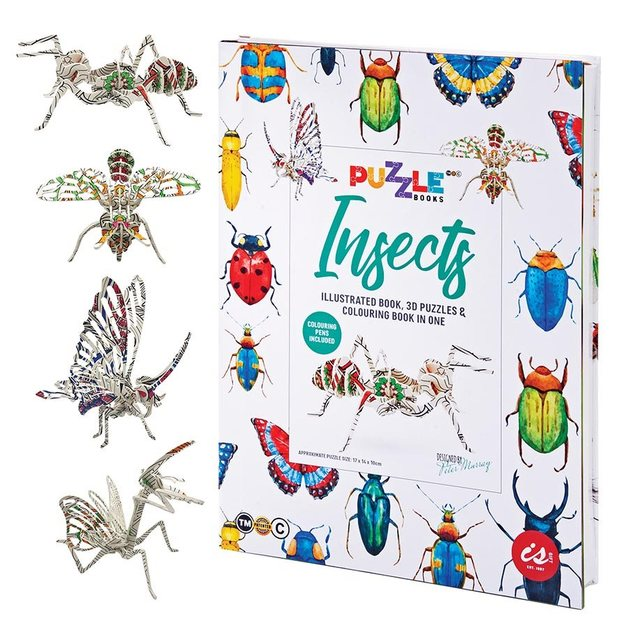 IS GIFT: Puzzle Book - Insects