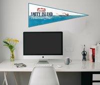 Jaws: Wall Pennant - Amity Island