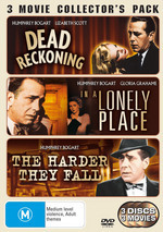 Dead Reckoning / In A Lonely Place / The Harder They Fall - 3 Movie Collector's Pack (3 Disc Set) on DVD