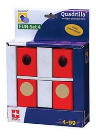 Quadrilla Wood Marble Run Expansion - Fun Set 4 Switching Blocks