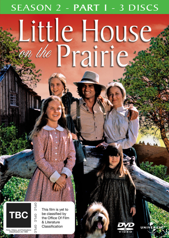 Little House On The Prairie - Season 2: Part 1 (3 Disc Set) on DVD