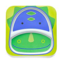 Skip Hop: Zoo Divided Plate - Dinosaur