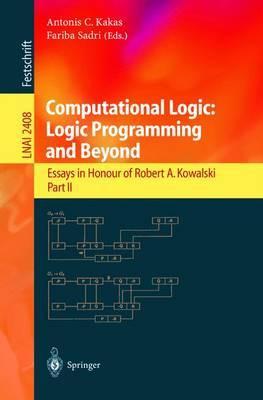 Computational Logic: Logic Programming and Beyond image