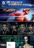 DC Comics Starter Pack - Season 1 of Arrow, Flash and Gotham on DVD