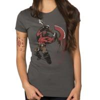 DOTA 2 Axe Women's T-Shirt (Large)