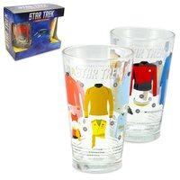 Star Trek Uniforms Pint Glass Set - 2-Pack