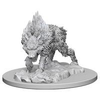 Pathfinder Deep Cuts: Unpainted Miniature - Dire Wolf