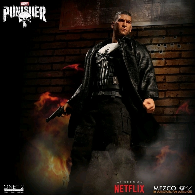 Marvel: Punisher (TV Ver.) - One:12 Collective Action Figure