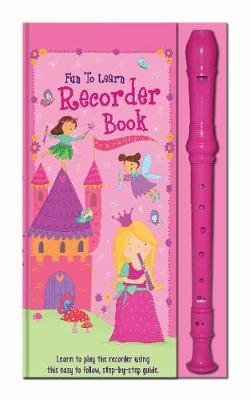 Fun to Learn Recorder and Book Pink image