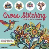 Cross Stitching 2019 Wall Calendar by Willow Creek Press