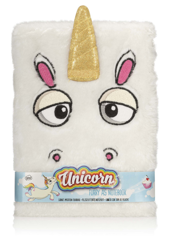 NPW: Notebook - Furry Unicorn (A5)