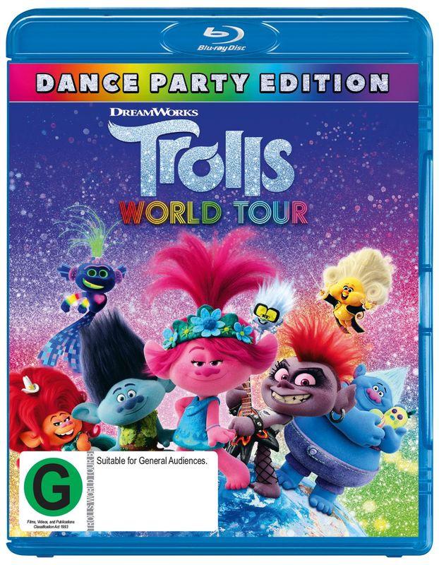 Trolls: World Tour on Blu-ray