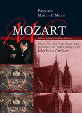 Mozart: Requiem / C Minor Mass (Recorded 1991) on DVD