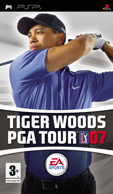 Tiger Woods PGA Tour 07 for PSP