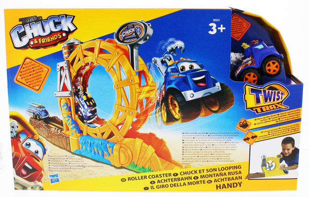 Tonka Chuck & Friends - Roller Coaster w/Handy the Tow Truck