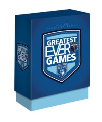 State Of Origin Greatest Ever Games: New South Wales Complete Collection (Limited Edition Box Set) on DVD