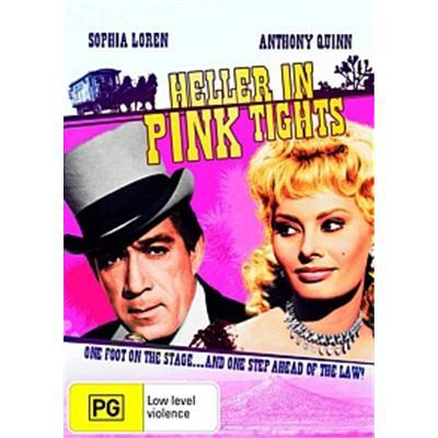 Heller In Pink Tights on DVD