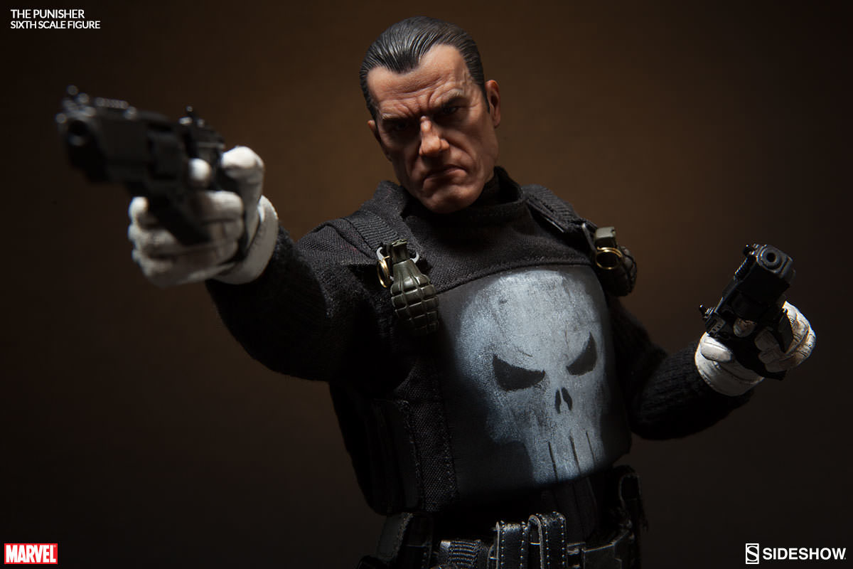 "The Punisher - 12"" Articulated Figure image"