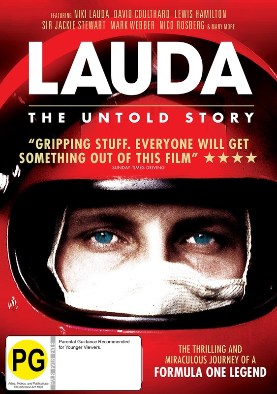 Lauda: The Untold Story on DVD