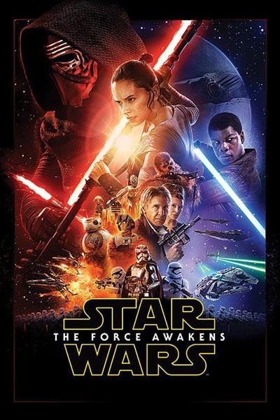 Star Wars: Episode VII The Force Awakens Wall Poster (410)