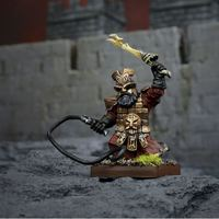 Kings of War Abyssal Dwarf Slavedriver