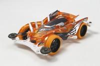 Tamiya Mini 4WD JR Slash Reaper Clear Orange - VS Chassis