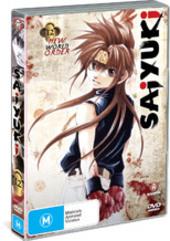 Saiyuki - Vol. 12: New World Order on DVD